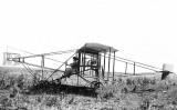 1911 - Julia Clark in her exhibition plane