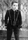 c. 1905 - Charlie Chaplin aged 14-16