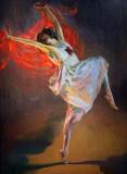 1911 - Anna Pavlova as a Bacchante