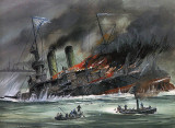 14 May 1905 - Sinking of a Russian battleship