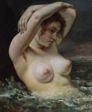 1868 - Woman in the Waves