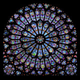 Rose Window, Cathedral of Notre Dame, c. 1260