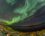 Northern Lights over the Moose River 2013 November 9th