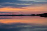 Pre dawn sky reflected in the Moose River June 11 2014