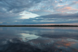 Clouds reflected in the Moose River 2014 July 10th