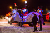 Payukotayno float in Moosonee Santa Claus Parade