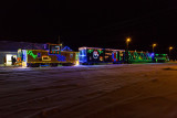 Ontario Northland Railway Christmas Train in Moosonee