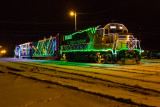 Christmas Train in Moosonee