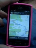 Android GPS Too (Kyocera Rise)