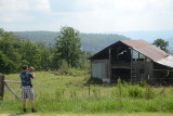 Me Hard at Play, Photographing the Barn Again