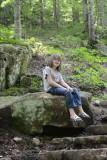 Helen in Lost Trail