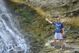 My Turn! Goofy Pose at Eden Falls