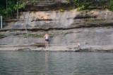 Me Preparing To Jump in Water, Lower Pruitt
