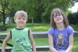 Helen/Adrian at Bradley Park