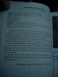 Swimming Holes of Ozarks Book, Falling Water Falls