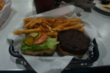 My Meal, Ozark Burger With Mustard/Pickle/Lettue (and Fries)