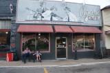 Ozark Cafe/Downtown, Helen & Nice Older Guy