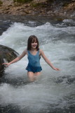 Helen Cooling Off in Steel Creek