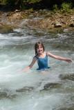 Adrian in Steel Creek