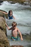 Helen/Adrian in Steel Creek