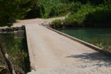 Scenery at Ponca Access Bridge