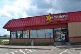 We ate at Hardee's In Russellville