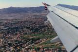 3 weeks in west USA - Pictures taken during ou flight to Las Vegas