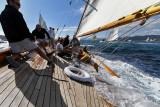 Voiles de Saint-Tropez 2013 - Journée du samedi à bord du 23 MJ Cambria