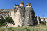 The fairy chimneys of the Pasabag valley between Cavusin and Zelve