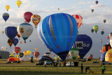 Lorraine Mondial Air Ballons 2015 - Pictures of the thursday morning flight