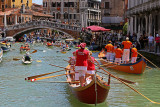 Pictures of the 2016 Vogalonga a 30 km race on the Venice laguna