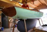 Visite du chantier école Skol Ar Mor à Mesquer en Loire Atlantique