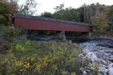 Discovering New England - The covered West Cornwall's bridge