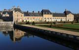 Visite du château de Vaux le Vicomte décoré pour Noël (décembre 2016)