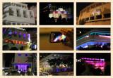 Lighting Bauhaus/International style at White City, Tel Aviv