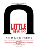 Little Theaters exhibit poster