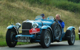 1934 Alvis Speed 20 Special biplace course