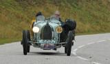 1925 Bugatti type 39 GP biplace course