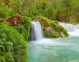 Falls Along Havasu Creek, Havasupai Indian Nation