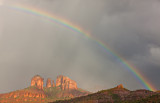 Spring Showers, Rainbow, Cathedral Rock, Sedona