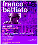 FRANCO BATTIATO Joe Patty's experimental group - Senigallia, 01/11/2014