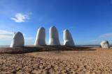 8205bb Fingers Art by Sculptors Brava Beach at Parada Punta del Este Uruguay.JPG