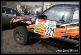 Departure of rally Aîcha des Gazelles du Maroc in Paris 2014