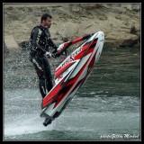 Acrobatic jet-ski