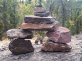 Inukshuk-Rocks on Rock