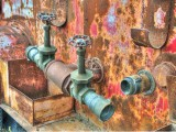 Fire Truck Pipes
