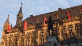 Aachen Rathaus - Am Startpunkt unserer Radtour