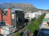 Cape Town view from hilton hotel