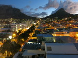 Cape Town view from hilton