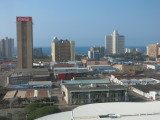 Durban view from hilton hotel